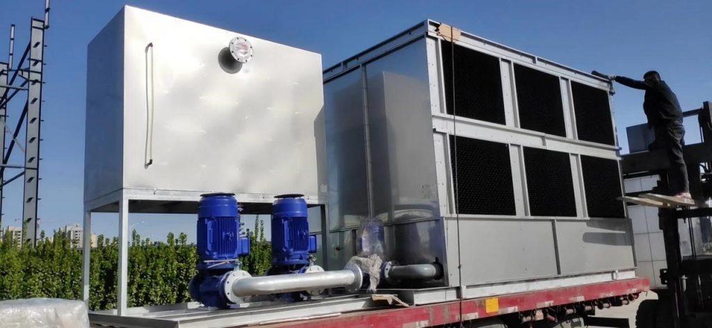 Водяное охлаждение закрытого типа