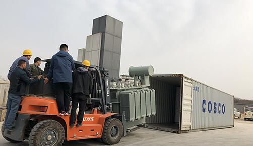 1500kva transformer shipped