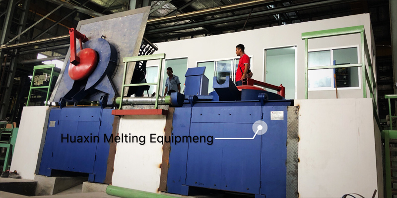 0.5T/400KW Induction Melting Furnace owned by the Malaysian government